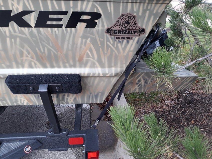 Катер Tracker 1860 Grizzly охота 2017