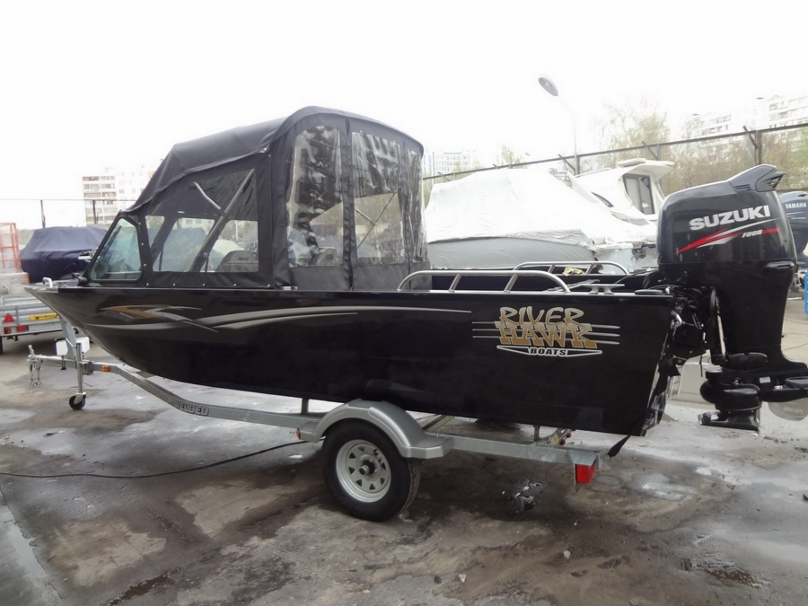 Лодка River hawk 19 2011