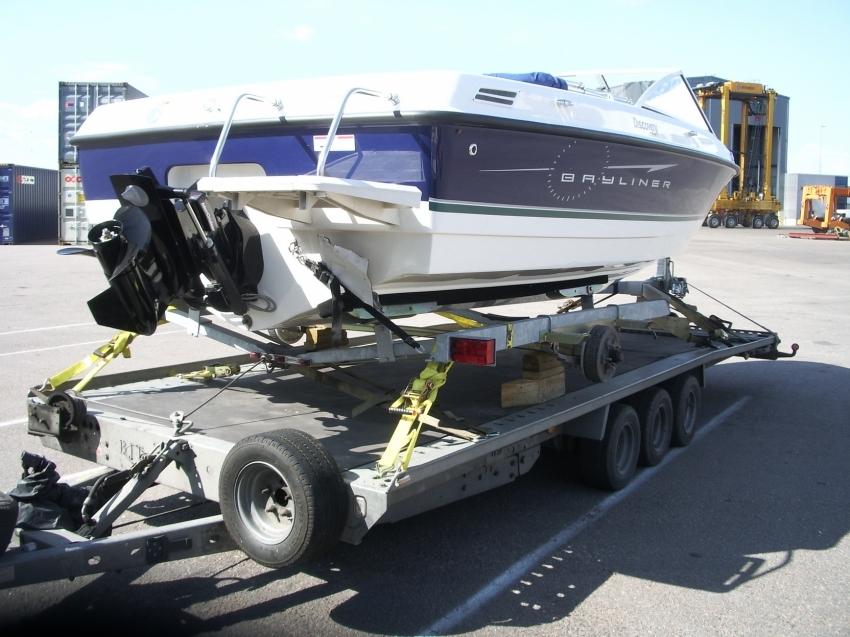 Bayliner 192 погрузка 2010