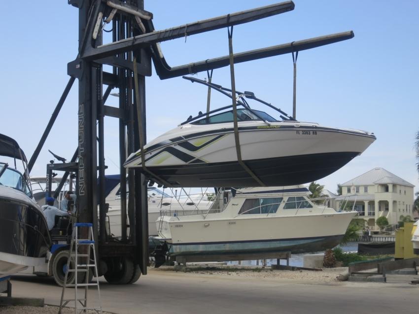 Доставка катера из США