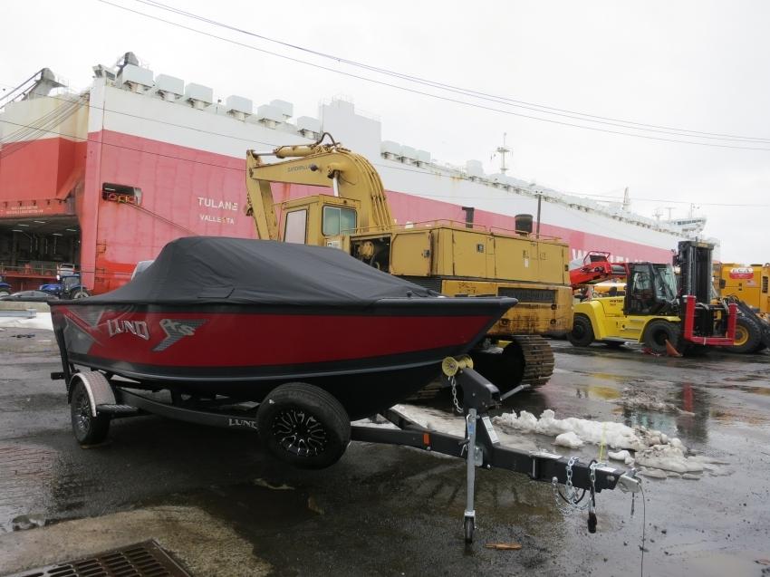 Доставка катера LUND Crossover 1875 март 2021 года