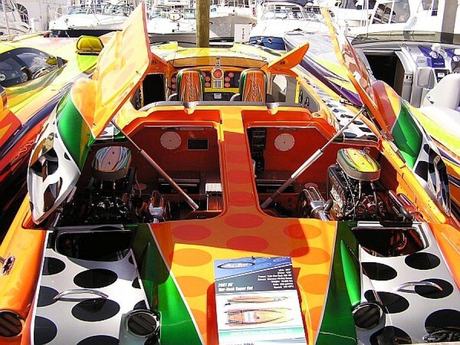 Катера лодки из США выставка