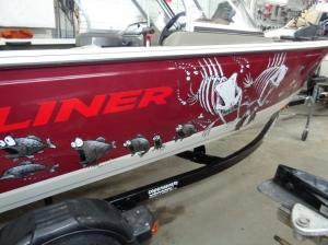 Crestliner 1650 Fish hawk 2012