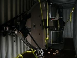 Катер Tracker 175 выгрузка