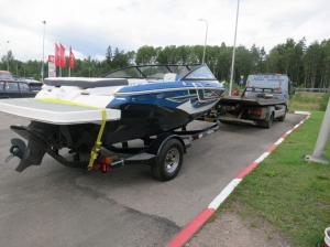 Доставка катера Regal август 2020