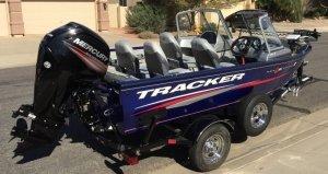 Катер Трекер Tracker Тракер 16 WT 2015