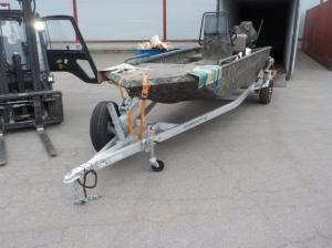 Доставка алюминиевого катера из США июнь 2020